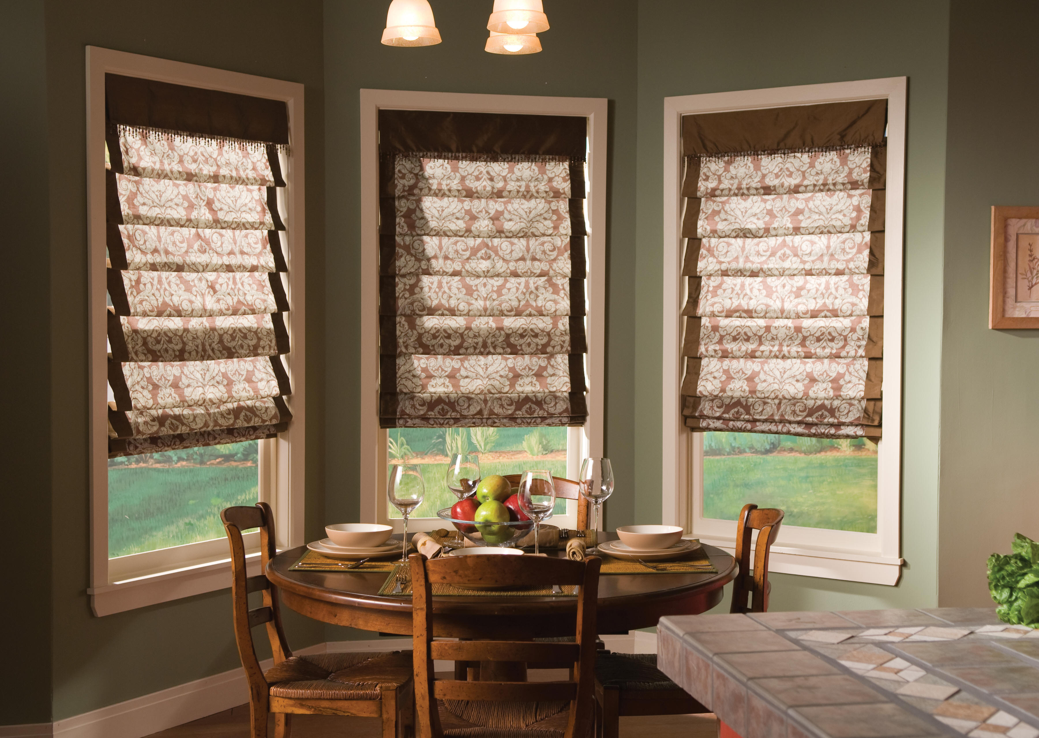 Beautiful Kitchen - Window Treatments: Shutters-Wood Blinds-Shades ...