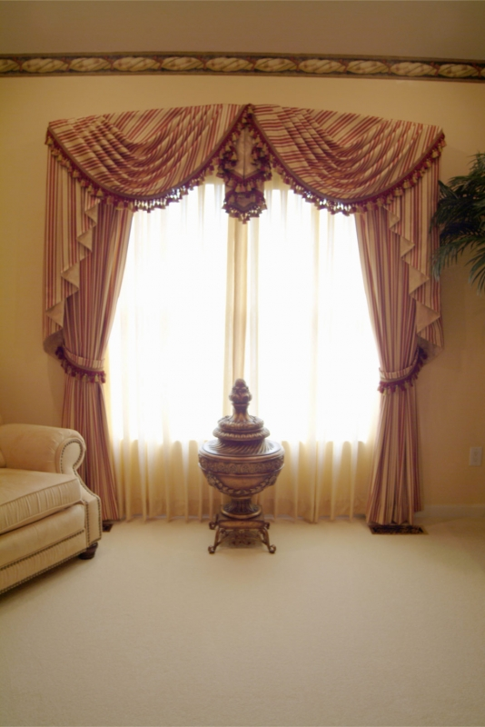 Window treatments in Bucks County