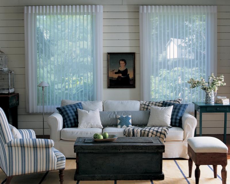 Soft window shades