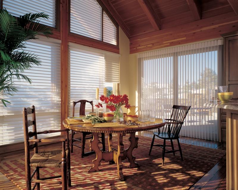 multi-window soft shade window treatments