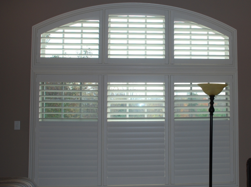 Window Shutters Arched Plantation Shutters Bucks County Pa