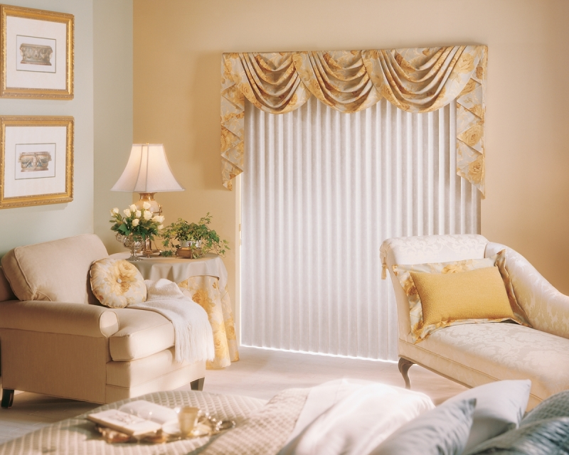 Vertical shades window treatments